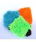 Čistící a leštící rukavice z mikrovlákna