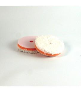 "NP MICROFIBER WHITE | Micro Wool Pad měkký | 85 mm | 33,5"""