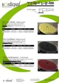 Katalog produktů NORDIC PAD THINK LINE