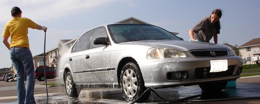 Příprava na leštění | Umytí vozu